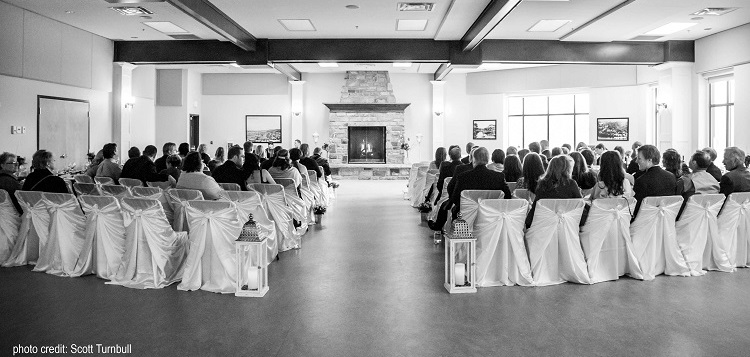 The Active Living Centre is a beautiful venue for everything from weddings to corporate events (Scott Turnbull)