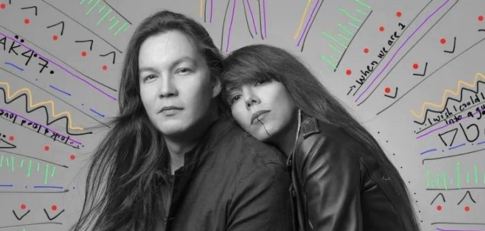 Digging Roots - Raven Kanatakta & ShoShona Kish - will play in Huntsville for National Indigenous Peoples Day (supplied)