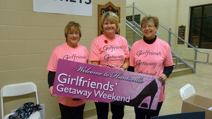 Girlfriends Getaway Weekend is just one of many annual events that relies on volunteers (Photo: Volunteer Muskoka)