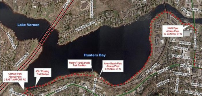 Hunters Bay Trail extensionapproved atincreased cost