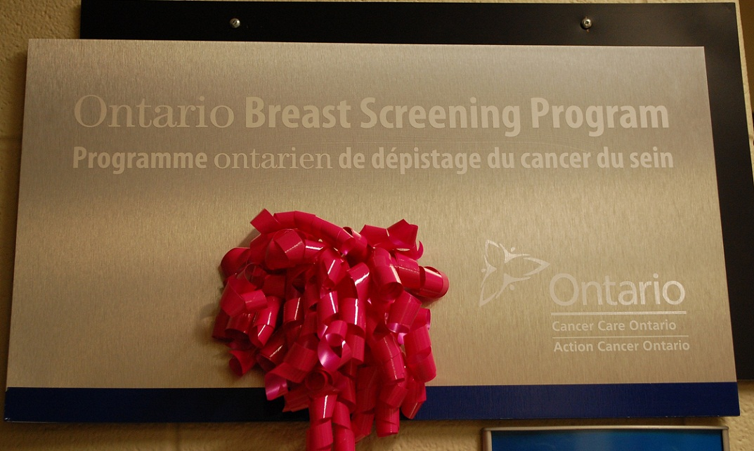 Apologise, but, Breast screening program in phrase What