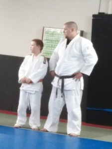 For the Allen's, judo was the perfect activity where they could have fun and spend father-son time together