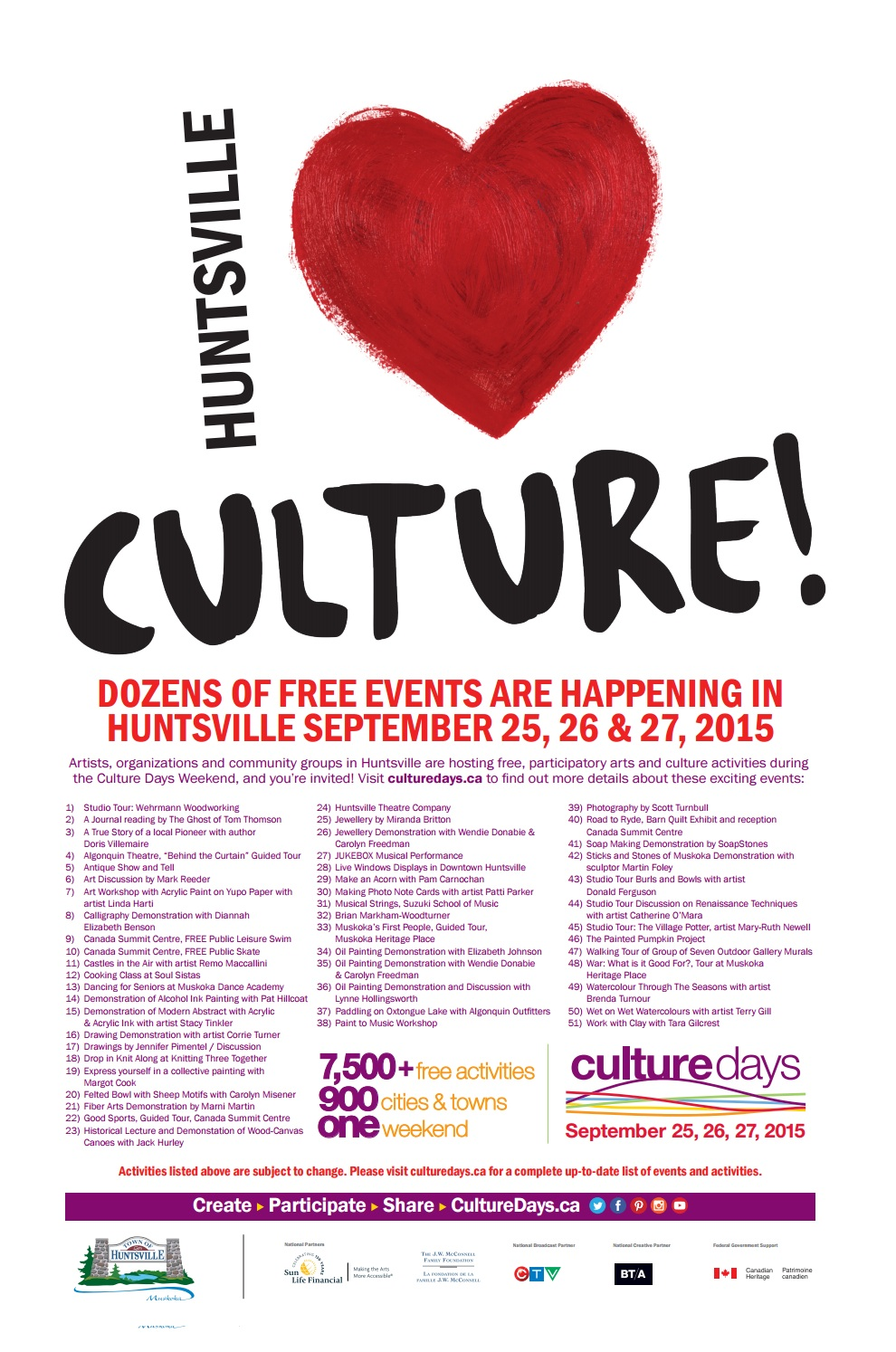 this weekend u0026 39 s culture days chock