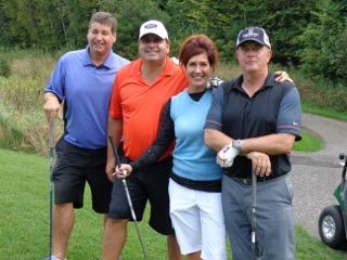 Gold Sponsor Lovegrove Construction Team, Steve Johnston, Jeff Lovegrove, Tish Firman, Mark Firman