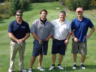 Phil Adams, Luke Barker, Mayor Scott Aitchison, and Kevin Koop