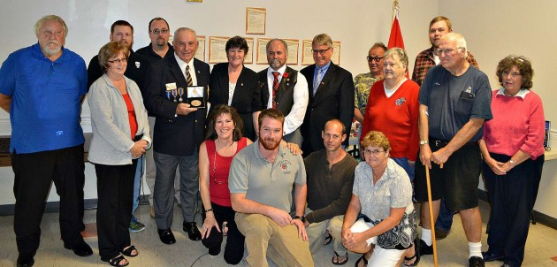 Huntsville Legion receives replica of Congressional Gold Medal