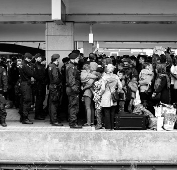 Syrian Refugees in Vienna by Josh Zakary