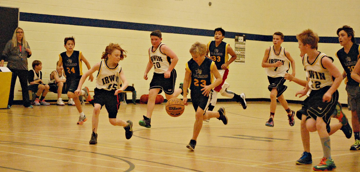 Courting Fun At Elementary School Basketball Tournament
