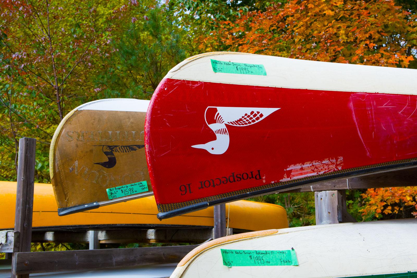 Algonquin Outfitters Used Canoe Sale - Huntsville Doppler