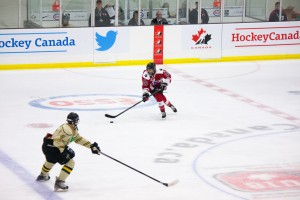 After two days of competition, Ontario Red, Ontario Blue and Manitoba sit tied for first place in the standings
