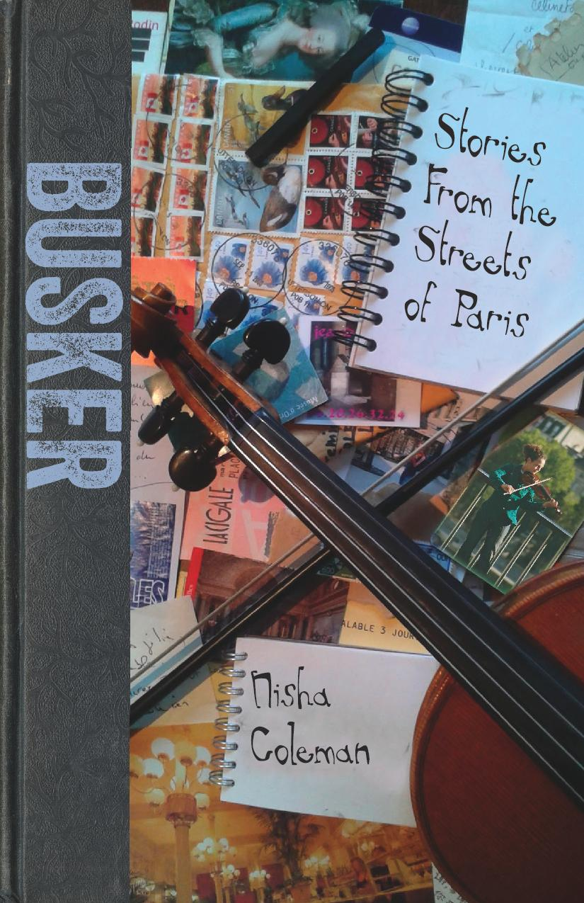 The cover for Busker: Stories from the Streets of Paris.