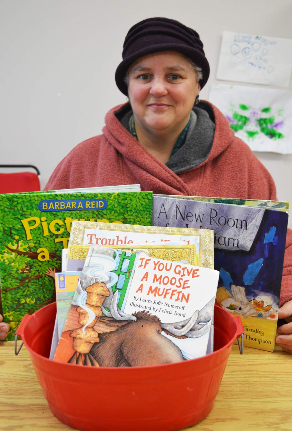 Inkster is like the Mary Poppins of books. She's touched a lot of lives through literacy and story-telling.