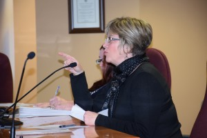 Wendy Laver asks committee members to consider residents in residential neighbourhoods.