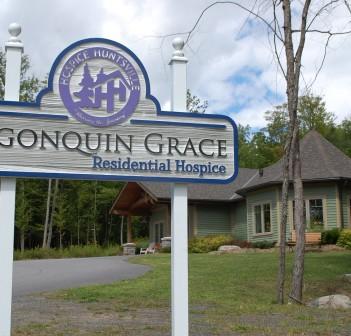 Huntsville's residential Hospice, Algonquin Grace, opened in 2012