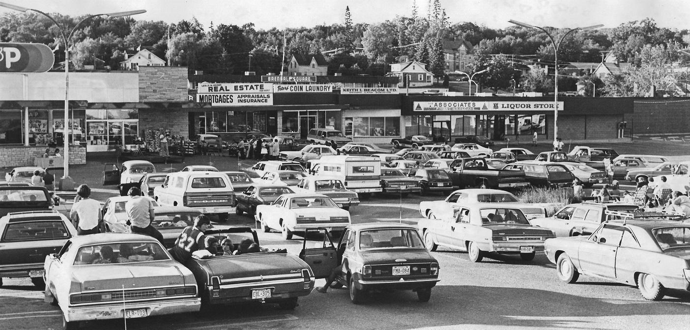 Wayback Wenesday 6 - A&P parking lot header