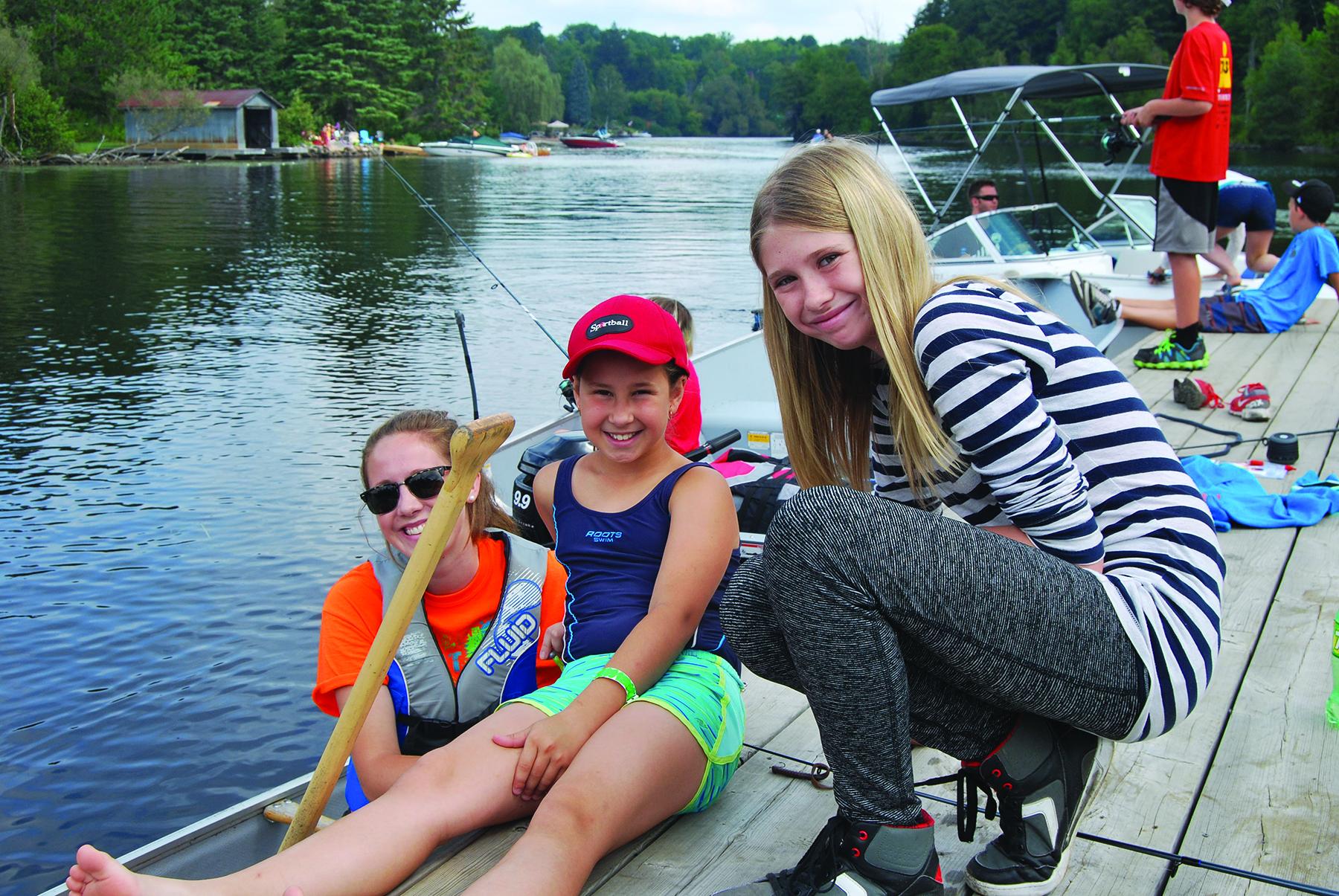 Fishing is fun for everyone!