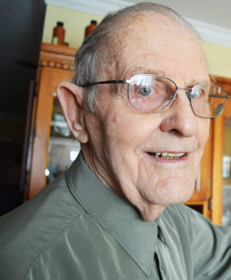 Living through WWII and the Cold War had a big impact on John Verbeek. You don't have to forget, says John, but always find it in your heart to forgive.