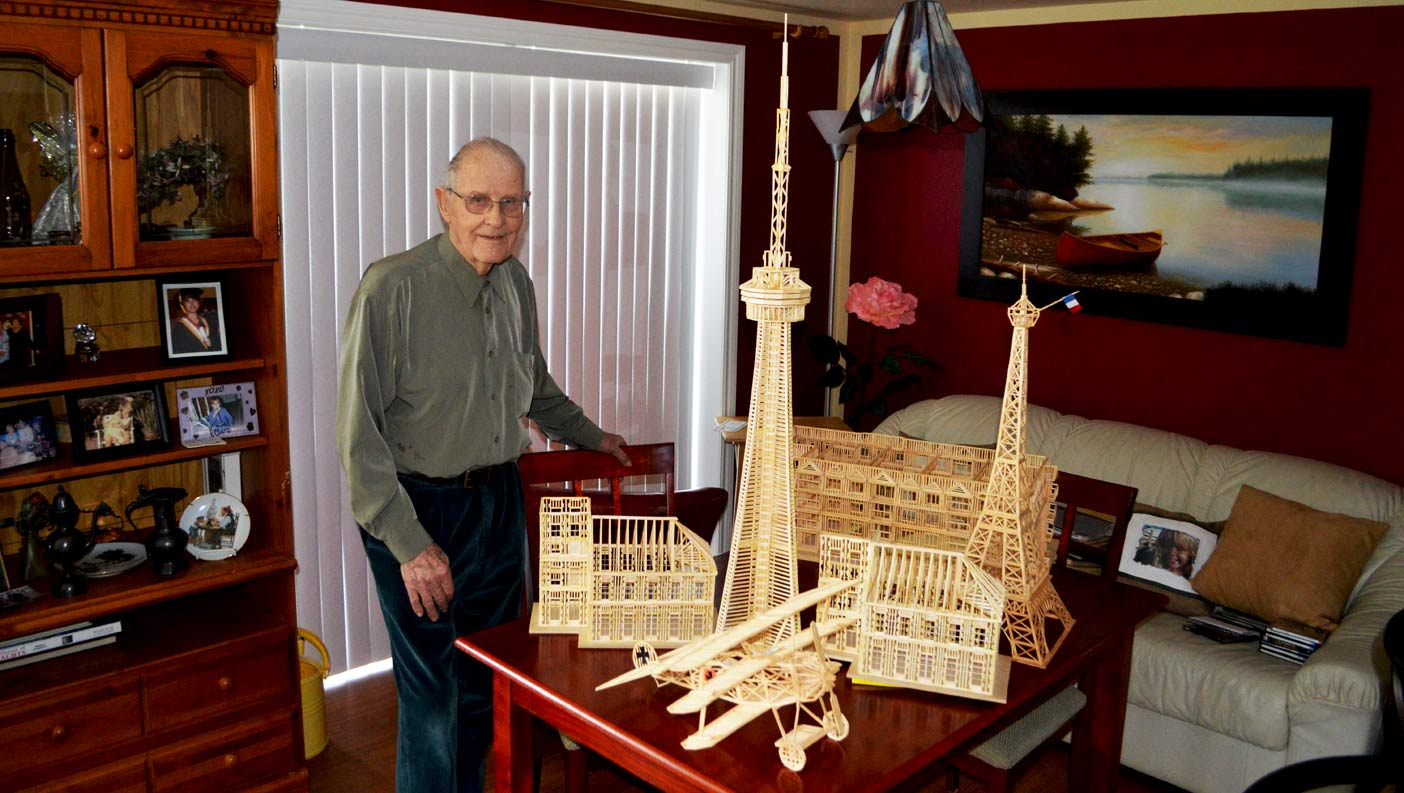 Eiffel Tower And Whole Lot More Comes >> John Verbeek has lived a life some people would believe only happens in movies - Huntsville Doppler