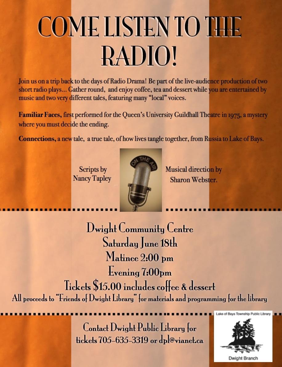 Come Listen to the Radio - Huntsville Doppler