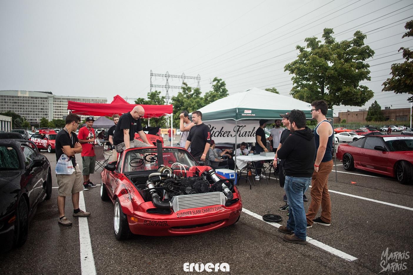 Cummins Miata drift car build to raise funds for HHS automotive