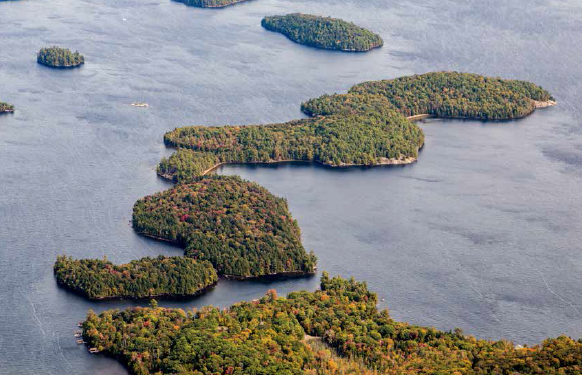 LANGMAID'S ISLAND - At 140 acres, it's the largest remaining privately owned island in Muskoka