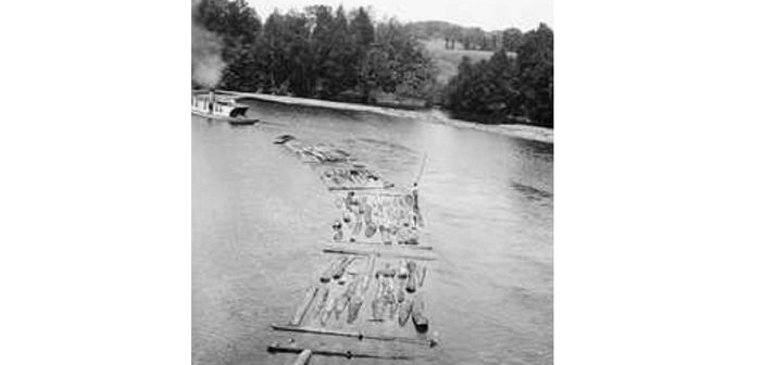 It's Wayback Wednesday: Rolling down the river