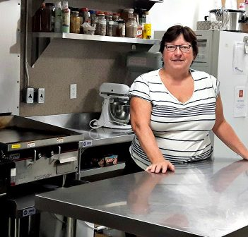 Barb Stronach in The Table Soup Kitchen Foundation's Community Kitchen