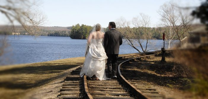 Camp Kitchen wedding photo