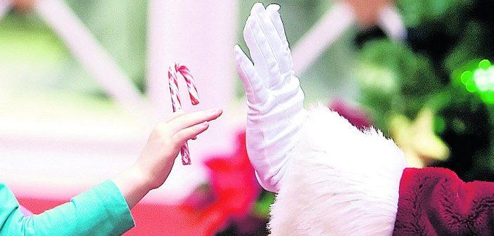 Sensitive Santa (Image: pennlive.com)