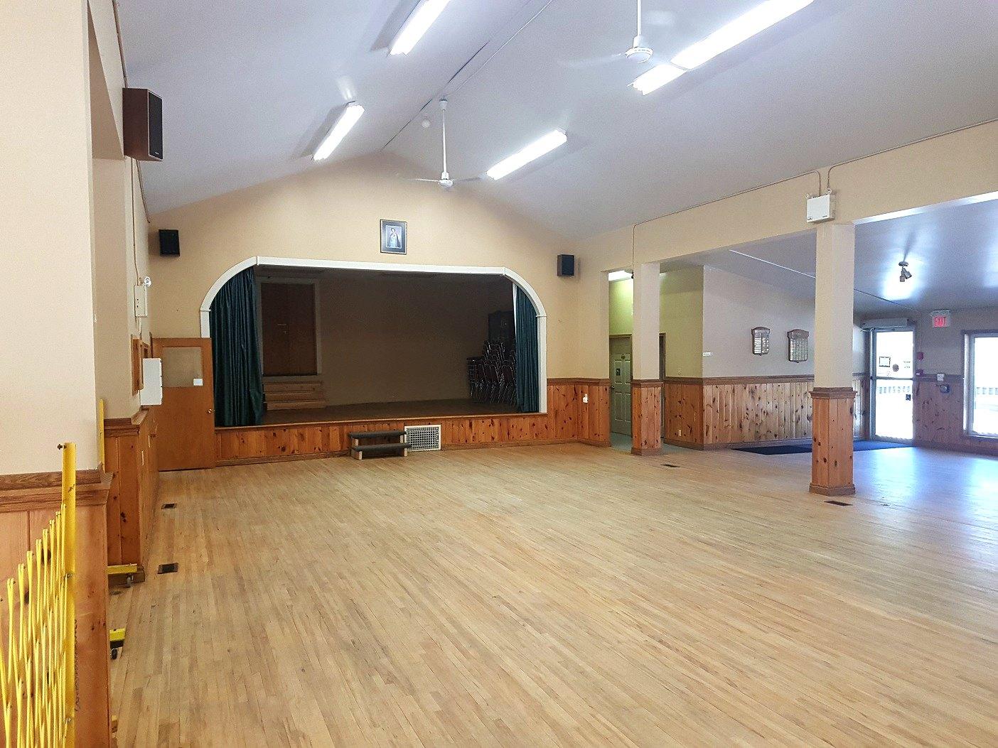 Utterson Hall interior