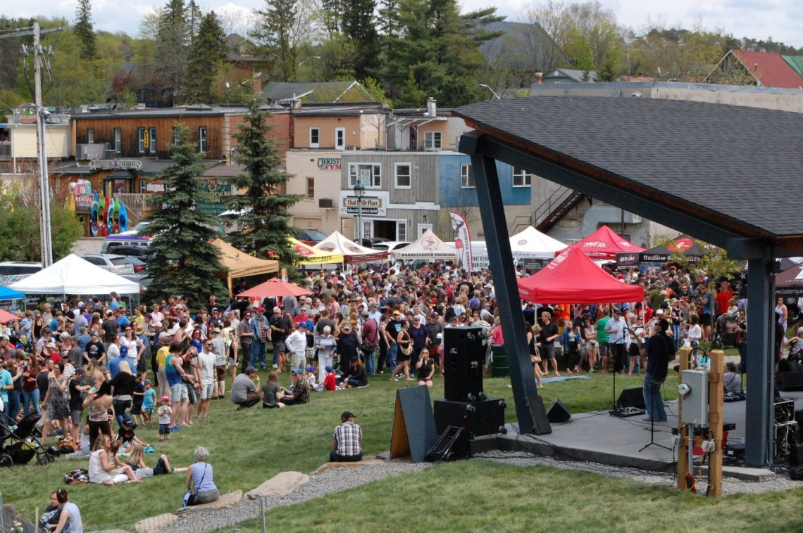 Muskoka 2/4 Craft Beer Festival