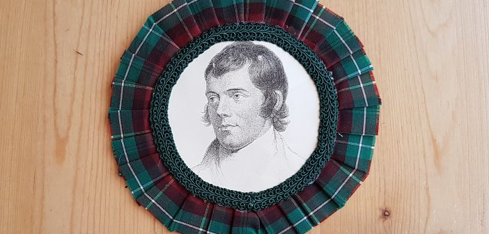 Rabbie Burns pin