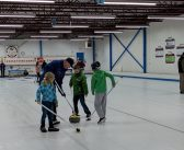 It was a full house at the Huntsville Curling Club's Family Day open curling session