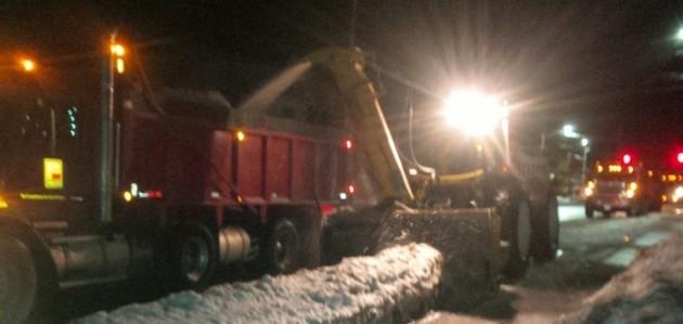Snow removal in Huntsville (Doppler file photo)