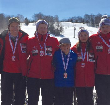 Andy Bulloch finishes inaugural ski cross season on golden note