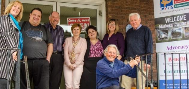 The 2017 CARP Muskoka/Parry Sound Board of Directors