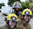 Camp FFIT (shown here in Ottawa) aims to get young women ages 15-19 interested in firefighting careers (Image: Camp FFIT Facebook page)