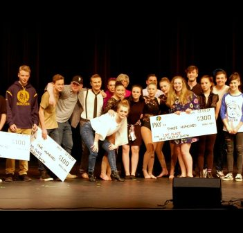 The Huntsville High's Got Talent contestants and judges