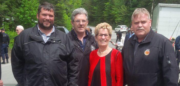 Premier Wynne announces an estimated $1.76 million for Stephenson Rd 1 bridge replacement