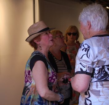 Friends of Kareen Burns gathered at The Other Side Studio to honour and celebrate her life.