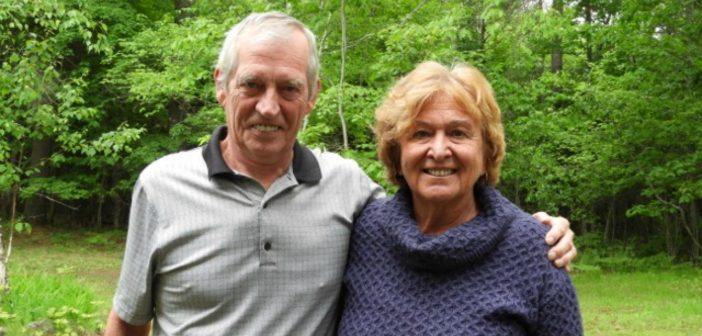 Joe Van Hoof and his wife Irena