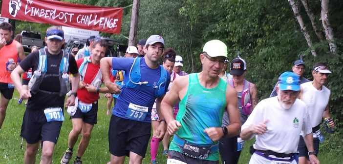 The eighth annual Limberlost Challenge begins (Photo: Gloria Schimmel)