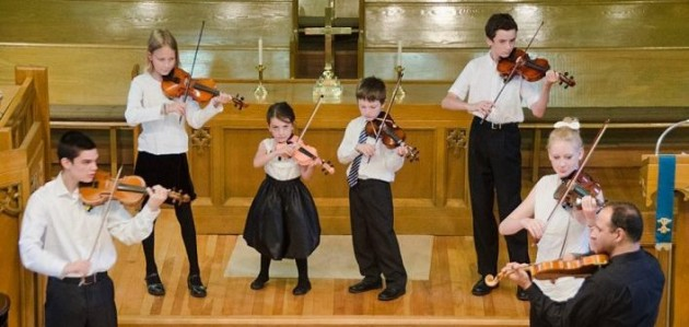 Suzuki Strings will play Music at Noon again this year (Photo: Huntsville Festival of the Arts)