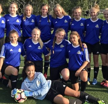 U16 Girls Huntsville Strikers are kicking their way to the top of their division