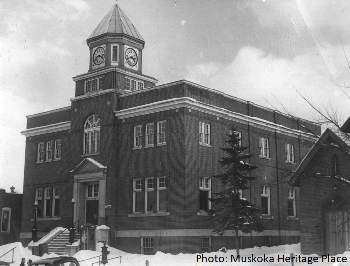 Huntsville's Town Hall in 1967
