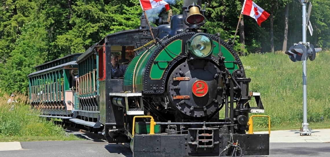 Muskoka Heritage Place's steam train is a popular attraction in the summer months