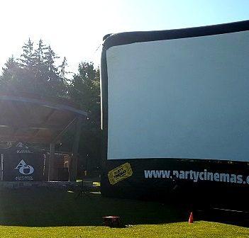 Free screenings were held in River Mill Park