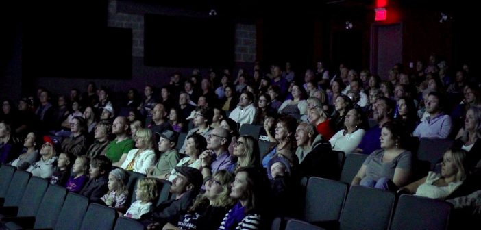 The audience at CineMuskoka's opening night screening of To the Orcas With Love (Photo: CineMuskoka)