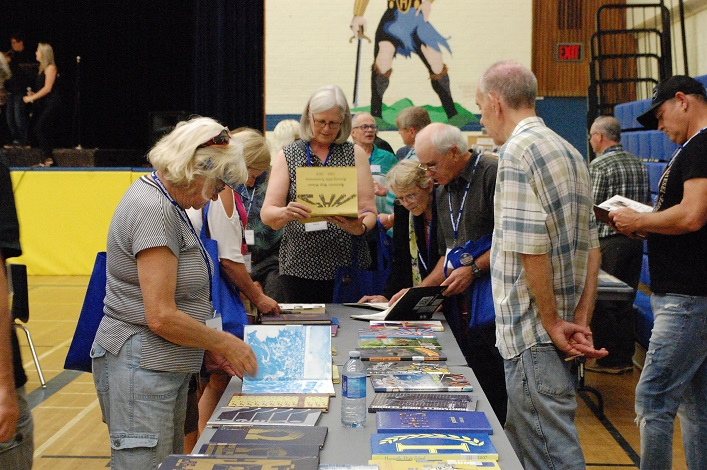 Old yearbooks were a hit at The Great Huntsville High School Reunion