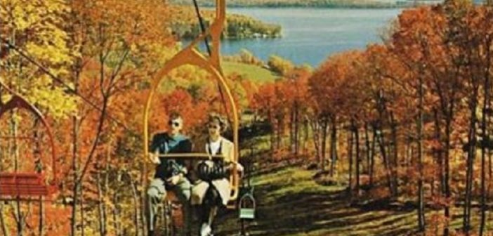 It's Wayback Wednesday: A colourful lift